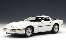 1986 CHEVROLET CORVETTE COUPE WHITE 71243 by AUTOart 1:18 SPECIAL SALE AUCTION