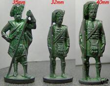 Soldatini Kinder Metalfiguren Tris Scozzesi Originali