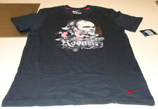 Team Manchester United Wayne Rooney T Shirt Soccer Black XXL Player Hero