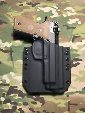 Black Kydex Holster for Beretta 92FS Vertec (M9A1)
