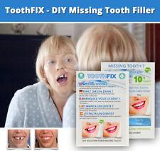 ToothFIX - Missing tooth filler cosmetic false teeth denture repair material