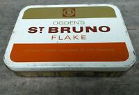 Collectable c1960's Vintage Tobacco Tin - Ogden's Liverpool St Bruno Flake 1lb