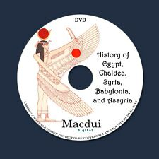 History of Egypt Chaldea Syria Babylonia by G. Maspero 13 PDF E-Books on 1 DVD
