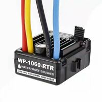 WP-1060-RTR Waterproof Brushed Motor 2S-3S 60A ESC For 1/10 RC Car Crawler
