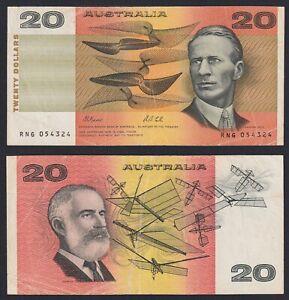 Australia 20 Dollars 1991 BB / VF A-01