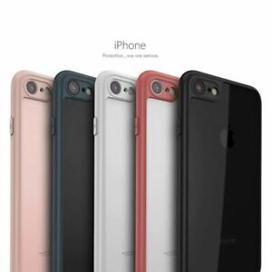 Slim Case Shockproof PC Bumper Cover Tempered Glass Screen Protector For Apple