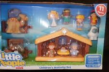 Little People Nativity Scene fisher price manger new 3 wisemen, angel,mary,baby