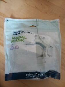 Fisher & Paykel F&P ESON 2 nasal CPAP Maske Gr. M- ESN2SU - ungeöffnete OVP