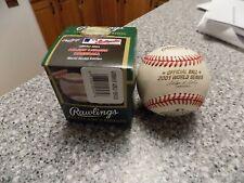 Rawlings 2001 World Series Official Game Baseball Arizona Diamondbacks - Boxed