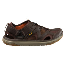 Teva Terra-Float Travel Lace - Men's Leather Sandals/Water Shoes - Brown 1018739