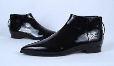 MIU MIU Pointy Toe Bootie Black Patent- Size 6.5 US/ 36.5 EU  $790  (B6)