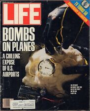 LIFE March 1989 Bombs on Planes / TV at 50 / Three Mile Island 10 Years After