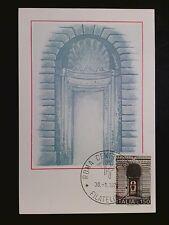 Italia MK 1976 procureur Roms maximum CARTE MAXIMUM CARD MC cm c8237