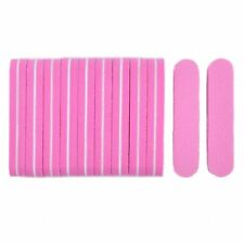 Mini Nail Files 50 Pieces Buffer Block Pink 100/180 Sanding Nails Pedicure Tools