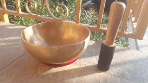 CAMPANA TIBETANA NEPAL ORIGINALE meditazione kundalini fatta mano 7 metalli yoga