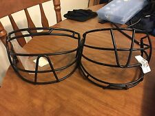 2 SOFTBALL/BASEBALL Face First Mask - New, Some Dings See Photos