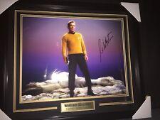 William Shatner Autographed Signed & Framed 16x20 Photo Jsa Authentication