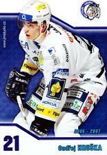 2006-07 Czech Bili Tygri Liberec Postcards #2 Ondrej Hruska
