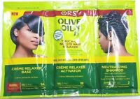 ORS Organic Root Stimulator Olive Oil Hair Relaxer Touch Up No Lye Kit Normal