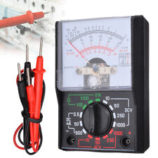 Analogue Meter Multimeter AC DC Volts Ohm. Electrical Circuit Multi Tester