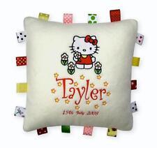 Cuscino Hello Kitty Ragazza straordinaria Regalo-Tag compleanno, battesimo, personalizzato