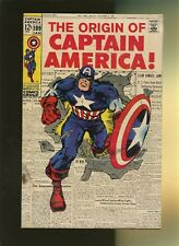 Captain America 109 GD 2.0 * 1 Book Lot * Origin of Captain America! Jack Kirby!