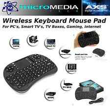 MediaVISION- Wireless Keyboard Mouse Pad for PC's- Smart TV's- Gaming- TV Box