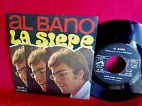 AL BANO La siepe 45rpm 7' + PS ITALY 1968 MINT- Perfetto
