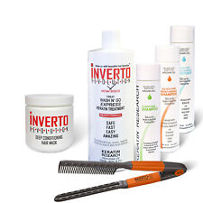 Inverto Wash N Go Express Brazilian Keratin hair Treatment  complete set US made