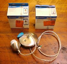 Lot of 3 WESTINGHOUSE Satin Nickel Antique, Brass Mini Pendant Light Kits 70284