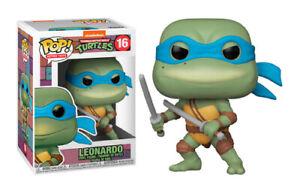 Funko Pop TMNT Teenage Mutant Ninja Turtles Leonardo Action Figure Brand New