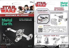 Metal Earth Star Wars The Last Jedi Resistance Ski Speeder 3D Vehicle Model Kit