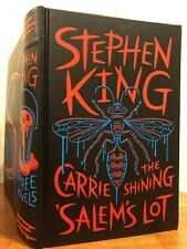 STEPHEN KING Leather Bound Edition 1ST PRINTING The Shining Carrie Salem's Lot