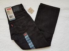 Levi Strauss Levi's 505 Regular Straight Black Jeans Size 14 Slim 25 X 27