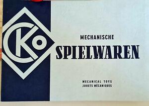 KATALOG MECHANISCHE SPIELWAREN KELLERMANN NÜRNBERG  MIT PREISLISTEN 1 / 1970