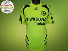 CHELSEA Away 2007-2008 S ADIDAS FOOTBALL SHIRT Camisa Maillot Maglia Trikot