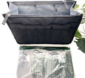 Periea 2-piece Black Handbag Insert Medium and Large FREE SHIPPING