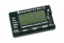 Monstertronic Akkutester Lipo, LiFe, Li-Ion, NiCd, NiMh -7 Zellen mit Balancer