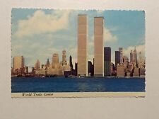 World Trade Center NYC Vintage (Pre-9/11) Postcard