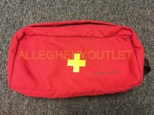 USGI Military General Purpose First Aid Kit Bag (Supplies NOT INCLUDED) Red NWOT