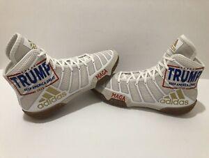 Rare Custom Trump 2020 Wrestling Shoes