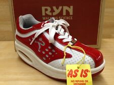 Ryn Athletic Women's Nazca Red & White US Size 6.0 W/Extra Insoles & Laces
