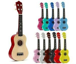 Ukelele Soprano De Tilo 21 Pulgadas Instrumento Musical De 4 Cuerdas Para Niños