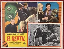 New listing Hammer The Reptile Mexican Lobby Card 1966