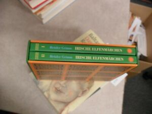 Brüder Grimm  Irische Elfenmärchen  Band 1+2   gebunden