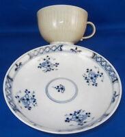 Antique 18thC Meissen Porcelain Cafe au Lait Cup & Saucer Porzellan Tasse German