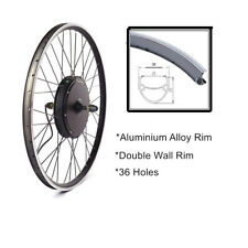 MTB Ebike Front/Rear Wheel Replacement with 36/48V 250/500/1000/1500W Hub Motor