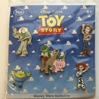 Toy Story 1 & 2 Pin Set - 5 Pin Set Disney Pin 76837