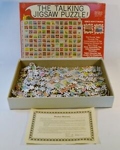 The Talking Jigsaw Puzzle Two Sided 560 Pieces The Office Building Vintage 1991