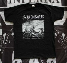Abigor ‎- Hollenzwang - Chronicles Of Perdition T-SHIRT M Emperor Limbonic Art